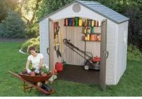 Casetas y cobertizos jardin casetas y cobertizos de - Cobertizos de resina ...
