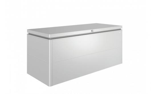 Arcon metalico biohort lounge box 200 cofre baul de - Baul plastico jardin ...