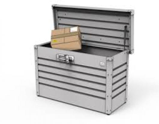 Arcon metalico biohort paket box cofre baul de jardin arcones baules y cofres de resina y - Baul de jardin ...