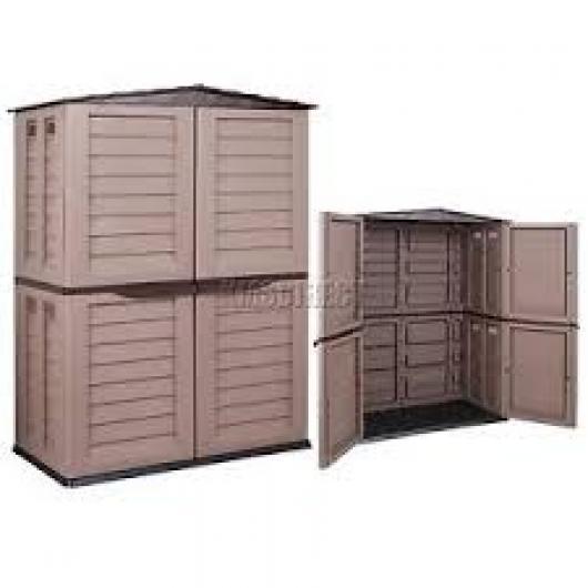 Armarios jardin resina excellent muebles de jardin de for Armarios de resina baratos carrefour