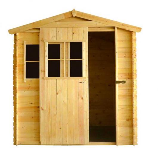 Caseta cobertizo de madera andrei gardiun para jardin - Cobertizos de resina ...