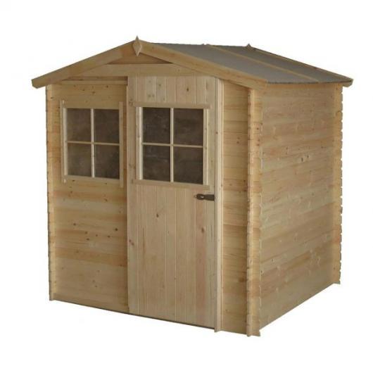 Caseta cobertizo de madera andrei gardiun para jardin for Cobertizo de resina