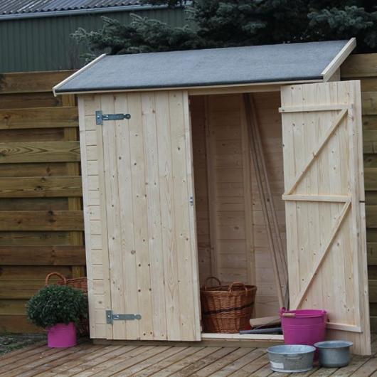 Caseta cobertizo de madera marge gardiun para jardin for Cobertizos para jardin