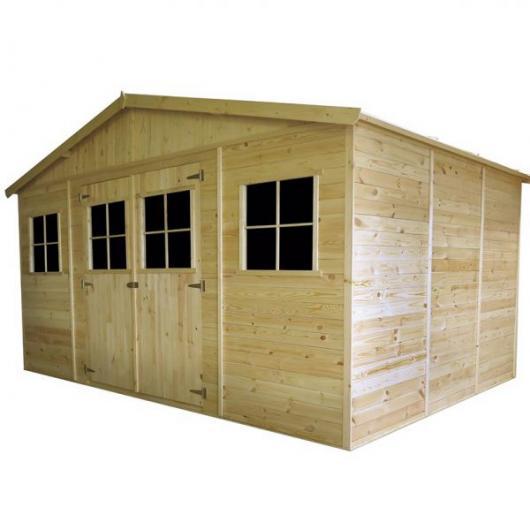 Caseta cobertizo de madera vladimir gardiun para jardin - Cobertizo de jardin ...