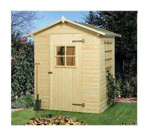 Caseta cobertizo madera jardin perfekt 2 6 casetas y for Cobertizos para jardin