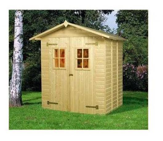 Caseta cobertizo madera jardin perfekt 3 2 y 3 8 casetas for Cobertizos metalicos para jardin