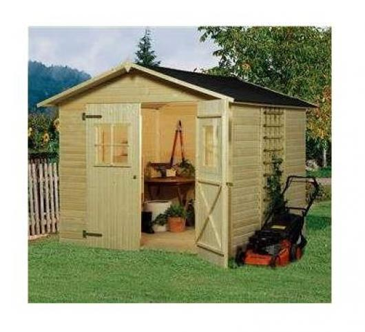Caseta cobertizo madera jardin perfekt 6 0 casetas y for Cobertizos para jardin