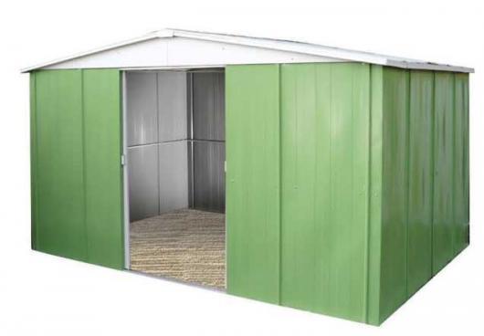 Caseta cobertizo metal jardin jasmine 331 casetas y - Casetas de metal ...