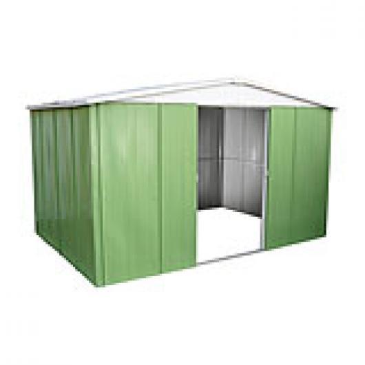 Caseta cobertizo metal jardin jasmine 331 casetas y for Cobertizo de resina