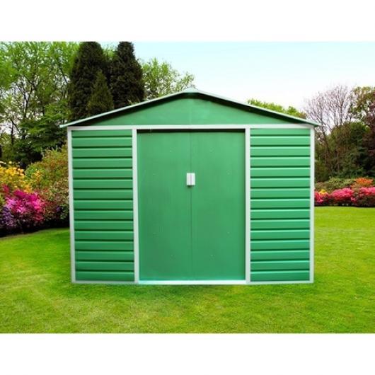 Caseta cobertizo metal jardin midlands gardiun casetas y cobertizos jardin casetas - Casetas de metal para jardin ...