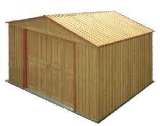Caseta cobertizo resina jardin poly duramax casetas y for Cobertizo de resina
