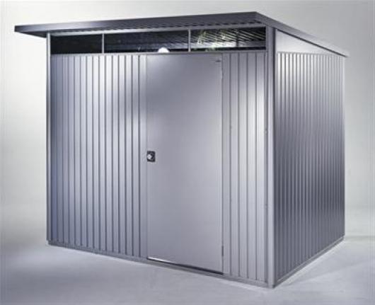 Caseta metalica biohort jardin avantgarde xl casetas y - Casetas de metal ...