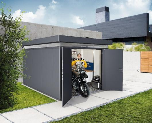 Caseta metalica biohort jardin casanova 4x5 casetas y - Cobertizos de resina ...