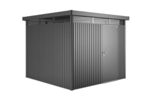 Casetas cobertizos metal jardin biohort metalicos for Cobertizos y casetas