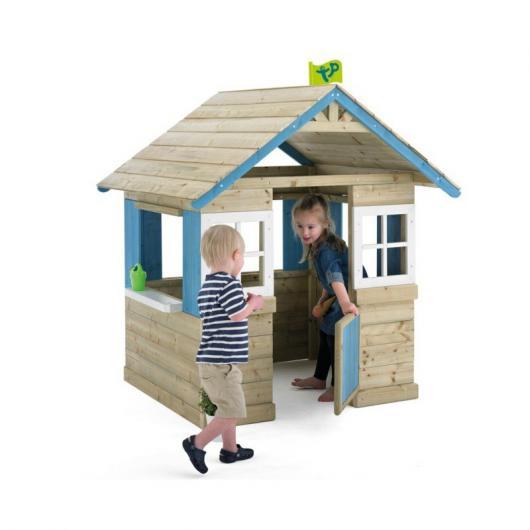 Casita infantil de madera outdoor toys bramble cottage for Casita exterior infantil