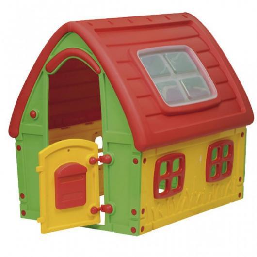Casita infantil outdoor toys hada juegos infantiles for Casita exterior infantil