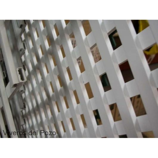 Celosia pvc 18 mm panel para valla jardin vallas y for Valla jardin pvc