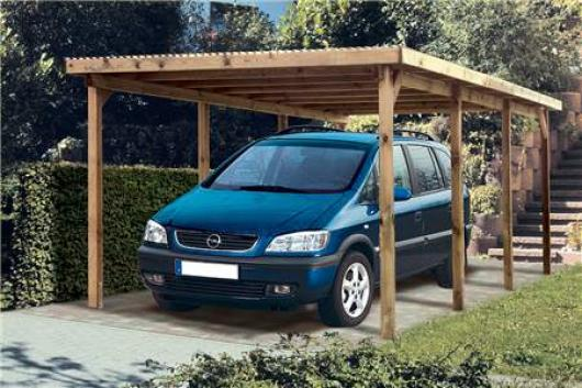 Cenador pergola madera jardin gazebo de kompact xl garaje pergolas cenadores y arcos de - Garajes para coches ...