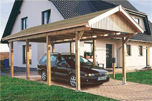 Garajes de madera jardin para coches pergolas for Casetas de jardin con porche