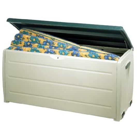 Cofre baul arcon resina jardin storage box arcones baules y cofres de resina y metalicos para - Baul de jardin ...