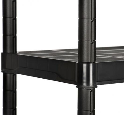 Estanter a de resina 137 alto x 70 ancho x 40 fondo casetas y cobertizos jardin estanterias - Cobertizos de resina ...