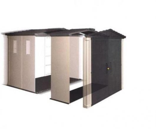 Extension para caseta resina apex 8 x 6 keter casetas y - Cobertizos de resina ...