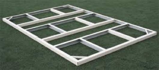 Kit estructura para suelo de casetas metalicas titan y for Casetas metalicas