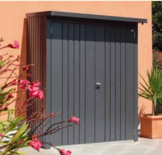 Le ero caseta metalica biohort jardin woodstock 150 casetas y cobertizos jardin casetas - Armario para jardin ...