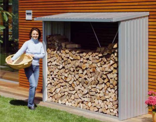 Le ero caseta metalica biohort jardin woodstock 230 for Cobertizos para jardin