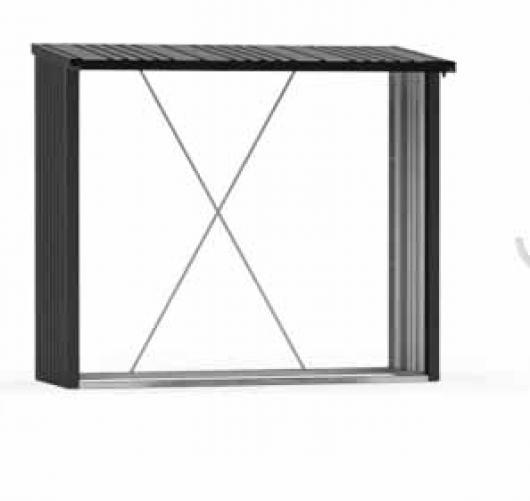 Le ero caseta metalica biohort jardin woodstock 230 for Casetas de metal jardin baratas