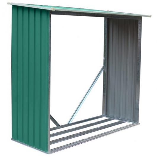 Le ero holman verde gardiun metalico casetas y for Casetas de metal para jardin