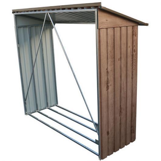 Le ero para casetas metalicas duramax marron imitacion for Casetas de jardin metalicas