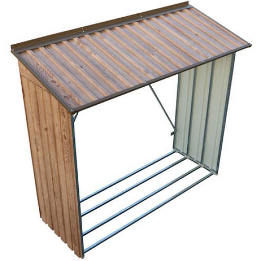 Le ero para casetas metalicas duramax marron imitacion - Casetas metalicas jardin ...