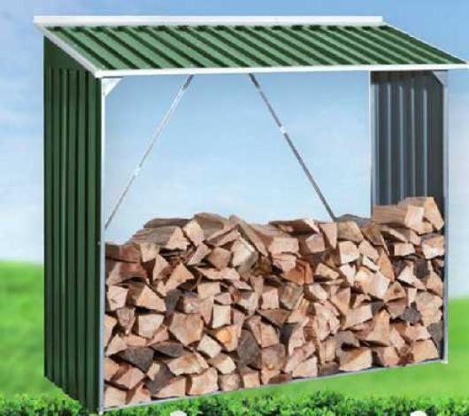 Le ero para casetas metalicas duramax verde casetas y - Casetas metalicas jardin ...
