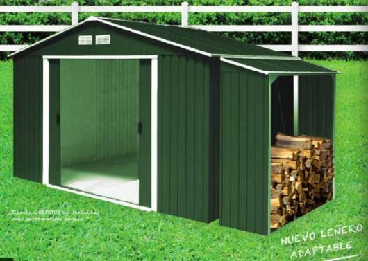 Le ero para casetas metalicas duramax verde casetas y cobertizos jardin casetas cobertizos Casetas jardin metalicas