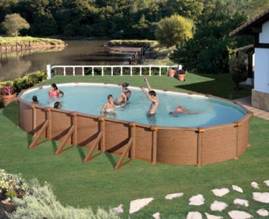 Liner gre ovalado alto mtsxlargo piscinas gre for Liner piscinas gre