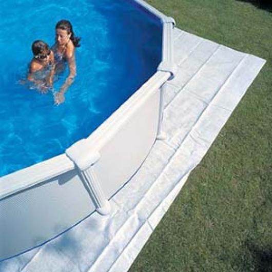 Manta protectora suelo piscinas gre x mts for Protector suelo piscina