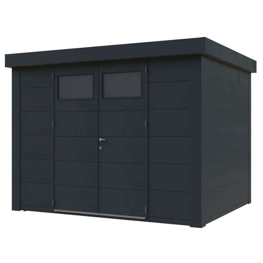 Casetas cobertizos metal jardin novo habitat metalicos casetas y cobertizos jardin casetas y - Cobertizos de resina ...