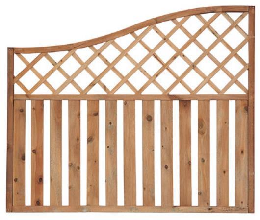 Panel topacio arco madera vallas jardin vallas y cerramientos jardin paneles de madera - Paneles de madera para jardin ...