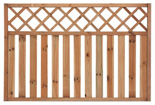 Panel topacio recto valla madera jardin vallas y cerramientos jardin paneles de madera - Paneles de madera para jardin ...