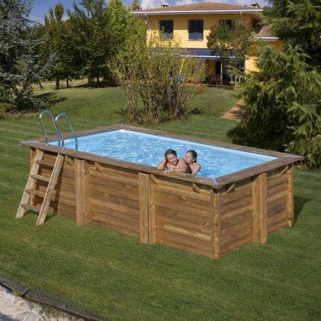 piscinas gre redondas y cuadradas de madera natural sunbay piscinas gre desmontables casetas. Black Bedroom Furniture Sets. Home Design Ideas