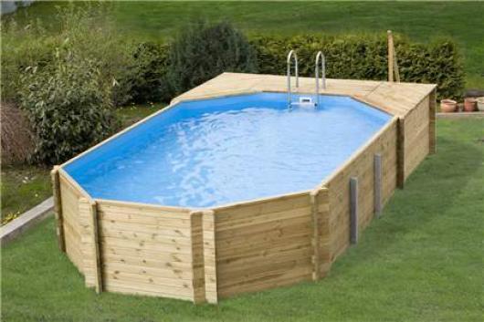Piscina de madera korfu jardin piscinas para jardin for Piscinas para jardin desmontables