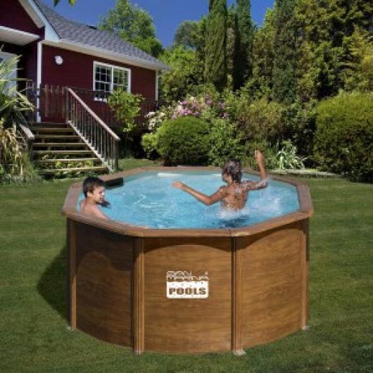Piscina gre kit np 242 a piscinas gre madera san marina for Piscina 1 20