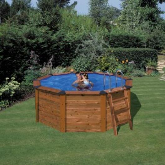 Piscina gre kit np 352 a piscinas gre madera san marina for Piscina 1 20