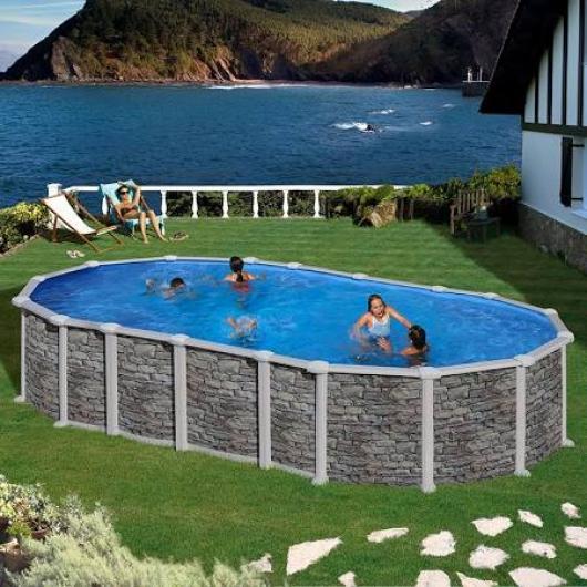 Piscina gre kit prov 6188 po piscinas gre santorini for Piscinas gre precios