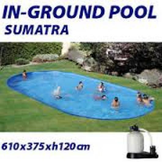 Piscina gre ovalada enterrada kpeov6027 piscinas gre for Piscina 1 20