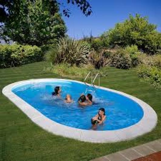Piscina gre ovalada enterrada kpeov8059m piscinas gre alto x 8 x 4 mts moorea piscinas - Piscinas en alto ...