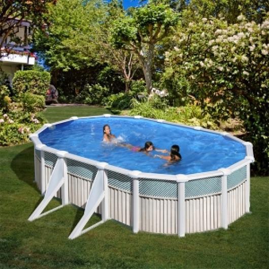 Piscina gre ovalada kit prov 500 c piscinas gre piscinas for Piscina 1 20