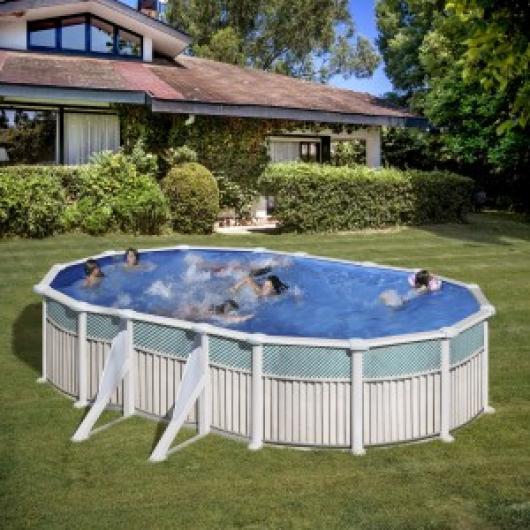 Piscina gre ovalada kit prov 500 c piscinas gre piscinas for Piscinas gre precios