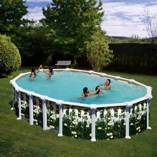 piscina gre ovalada kit prov 6188 j piscinas gre